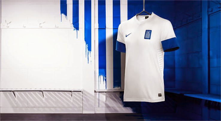 Greece home shirt 2013-2014
