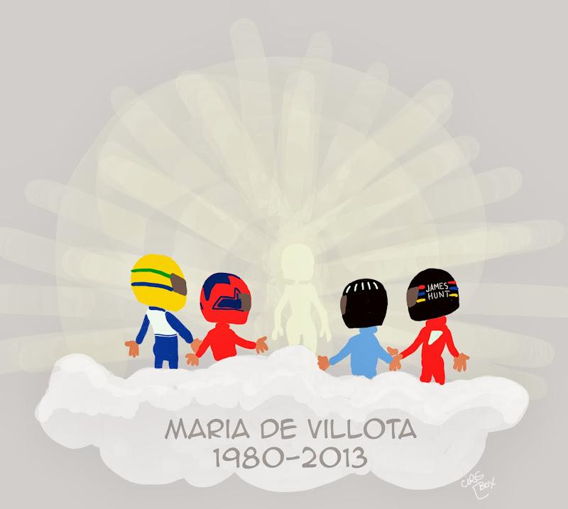 Мария де Вильота 1980-2013 - трибьют-комикс Cirebox