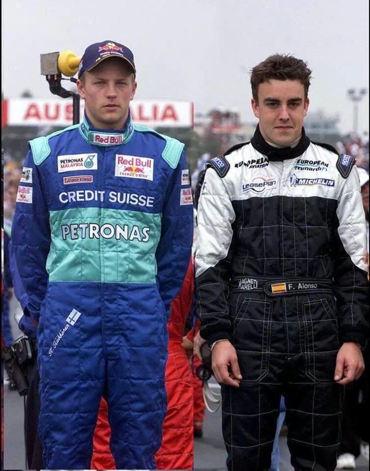 дебют Кими Райкконена и Фернандо Алонсо в Альберт-Парке на Гран-при Австралии 2001