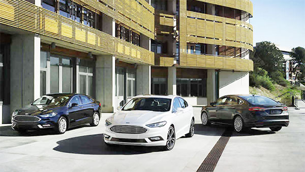 2017 Ford Fusion Energi Pushes of Plug-In Hybrids