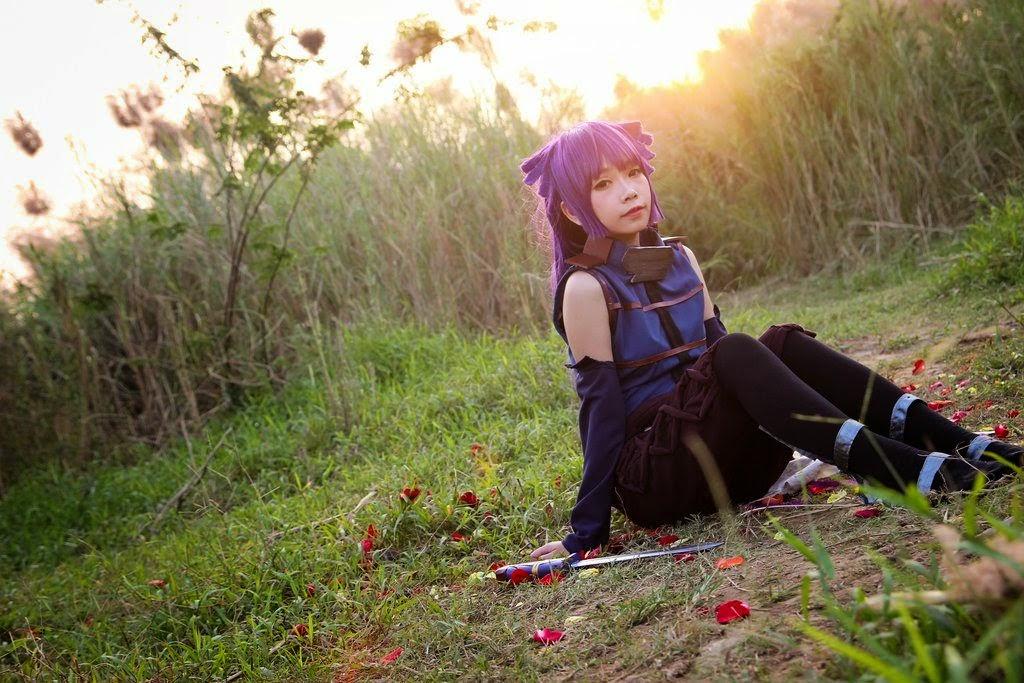 คอสเพลย์: Akatsuki จาก Log Horizon