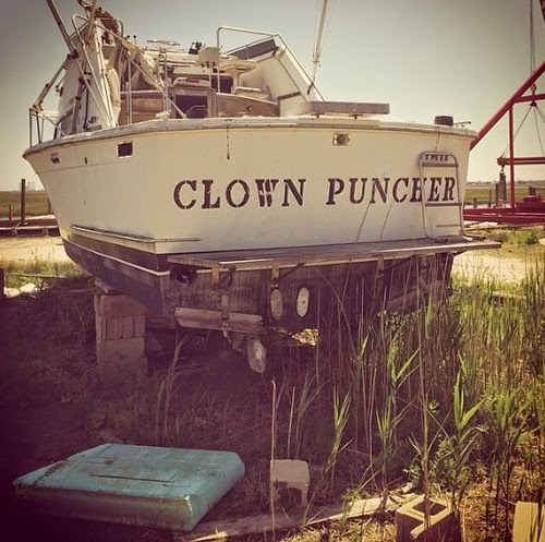 There's a story behind every boat name...