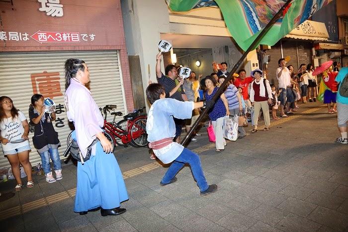 第60回よさこい祭り☆本祭2日目・上町競演場85☆上2目2922