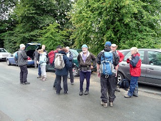 Still waiting - so it's time for waterproofs before we set off