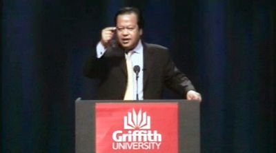 Prem Rawat Maharaji at Griffith University - Australia