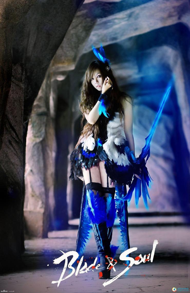 Ngắm nữ sát thủ quyến rũ trong Blade & Soul - Ảnh 1