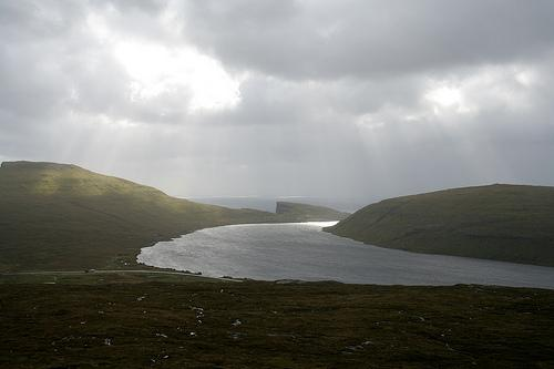Sorvagsvatn (Leitisvatn) Lake, Faroe Island Seen On www.coolpicturegallery.us