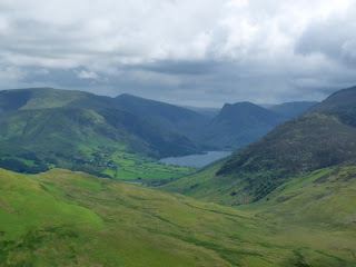 Looking over to Buttermere and Fleetwith Pike
