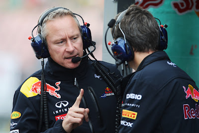 Team Manager Red Bull Racing Джонатан Уитли на Гран-при Венгрии 2011