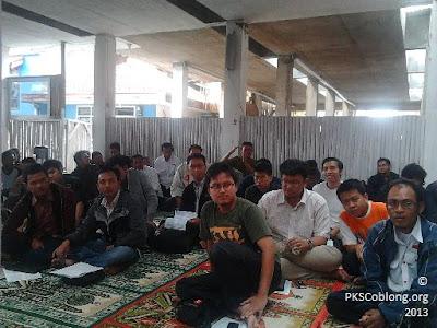 peserta pelatihan saksi TPS kelurahan dago, cipaganti, dan lebak siliwangi