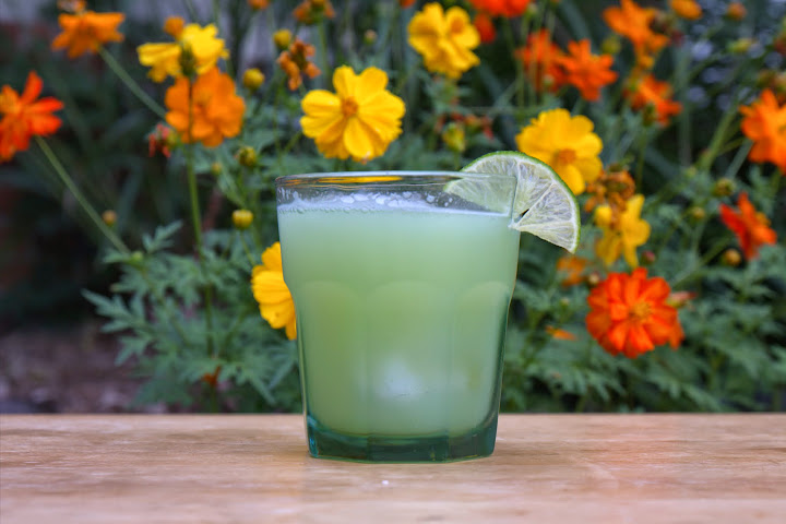 Cucumber Lime Mint Agua Frescas