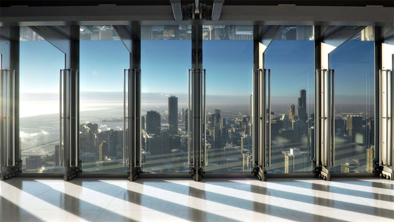 Thornton Tomasetti: HANCOCK CENTER NEXT OPEN of TILT by THORNTON TOMASETTI