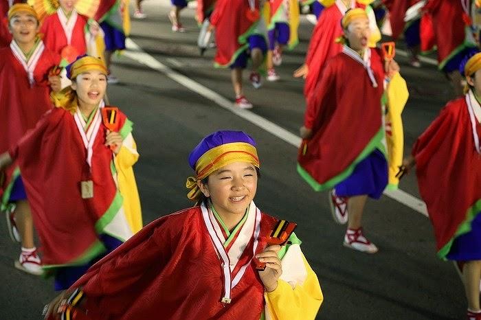 第60回よさこい祭り☆本祭2日目・升形地域競演場30☆上2目2620