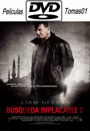 Búsqueda Implacable 2 (Taken 2) (2012) DVDRip