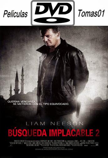Búsqueda Implacable 2 (Taken 2) (2012) DVDRip