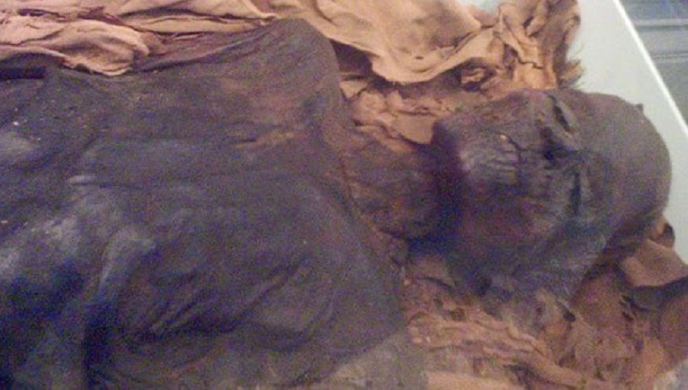 Egyptian police recover looted royal mummy