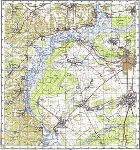 Map 100k--m36-007--(1986)