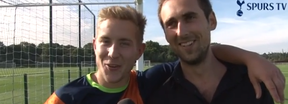 Screen+Shot+2013 10 01+at+15.20.06 Lewis Holtby finally wins a Spurs TV challenge: tennis ball keepie uppies [video]