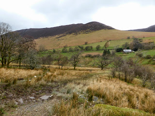 It was a muddy and boggy path to Keskadale Farm. The Knott Rigg ridge is in view.