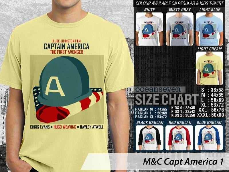 Kaos Movie Capt America 1 Film Cinema distro ocean seven