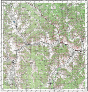 Map 100k--m45-040--(1981)