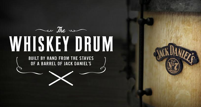 Jack Daniel's Creates An Awesome Whiskey Drum