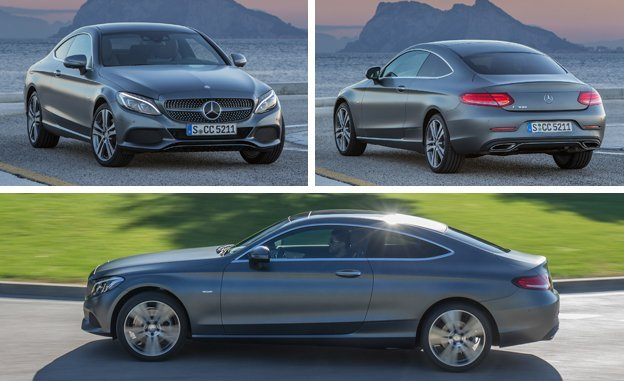 2017 Mercedes-Benz C-class Coupe Review Car Price Concept
