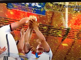W杯ドイツ キャプチャー
