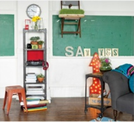 going green {with chalkboards}