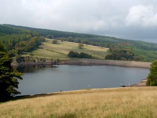 Errwood Reservoir Dam