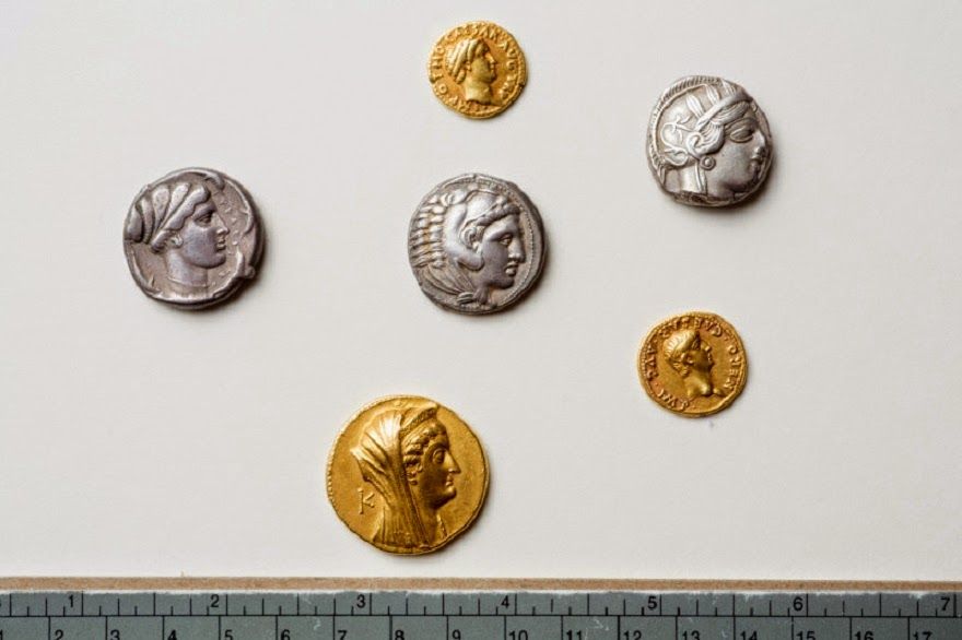 Ancient coin collection resurfaces after 80 years