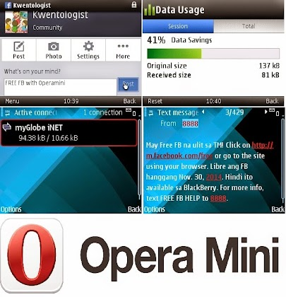 Image of Operamini is Faster in FREE FB Connection