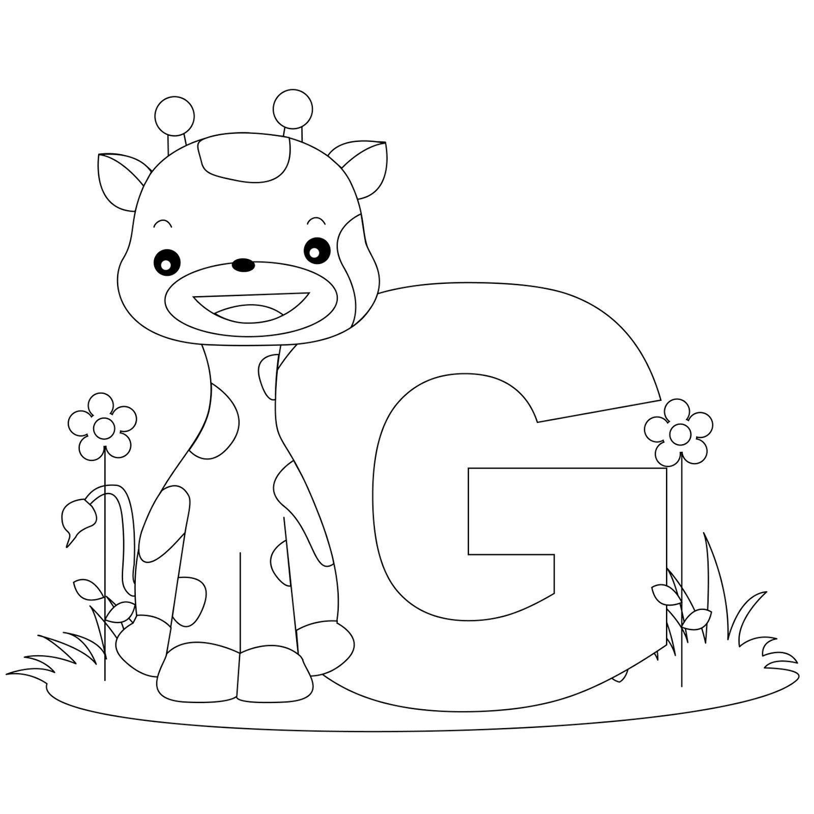 alphabet coloring pages printable - Color the Alphabet Alphabet Coloring Pages
