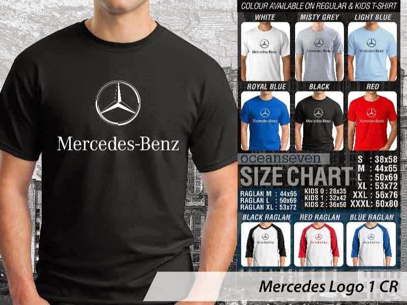 KAOS Mercedes 1 Logo Otomotif distro ocean seven