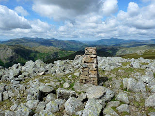 High Raise Summit Trig Pillar.