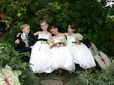 The bridal party kids...minus one (where's Jack??)