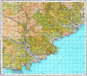 Thumbnail Map 200k--k52-33