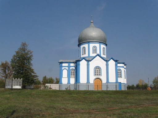 Храм в селе Перемога