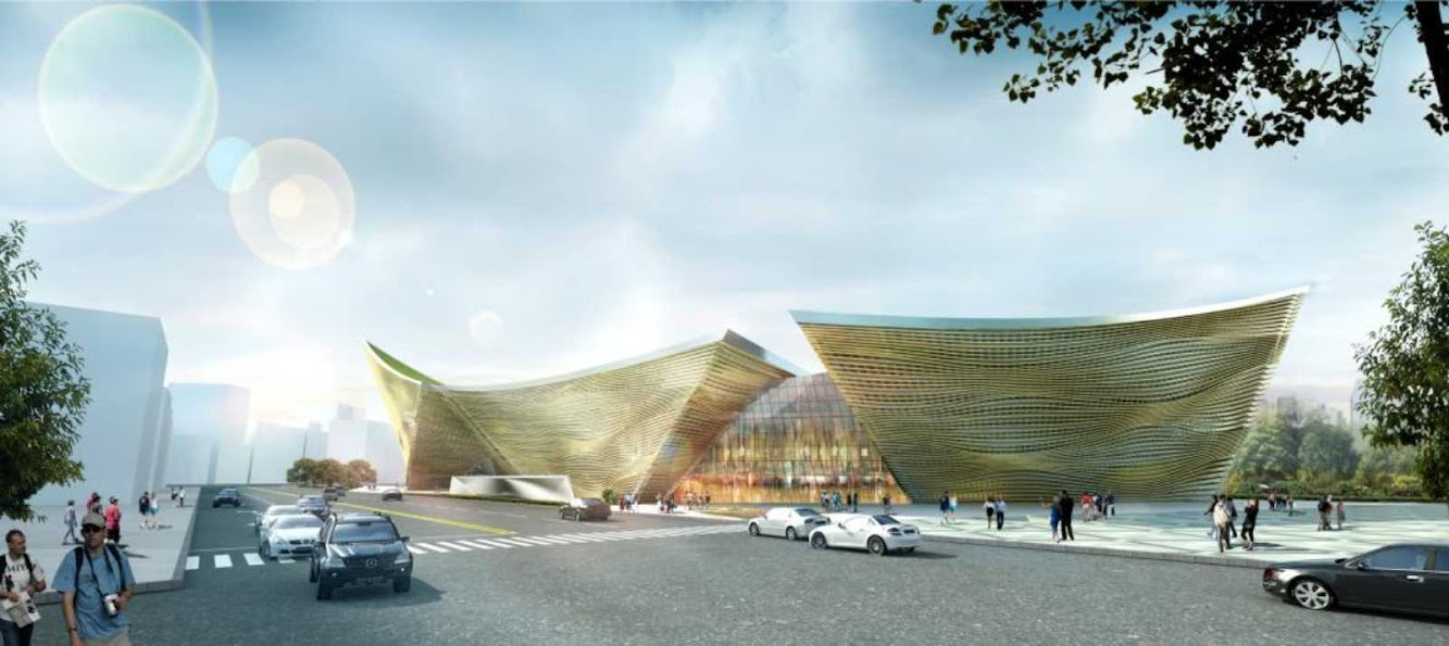 Taiwan: Cultural Center Design Proposal by Theeae Ltd