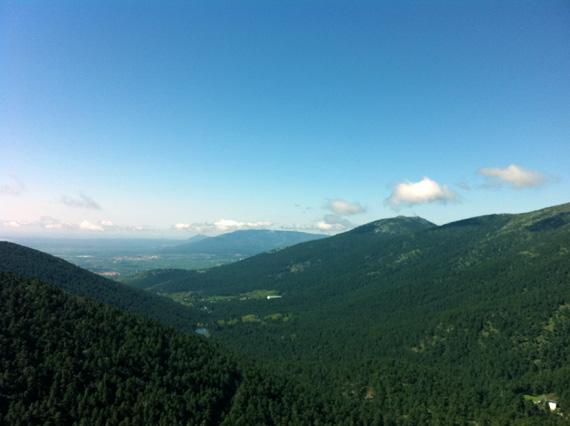 Valle de la Fuenfría, visto desde el Mirador de la Reina