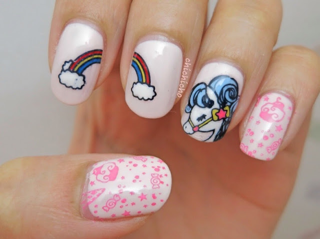 Magical Pony Stamping Plates Nail Art Born Pretty Store Review