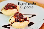 2 Minute Cupcake