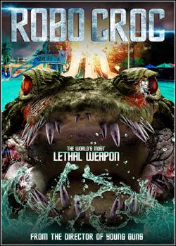 Filme Poster Robocroc - Terror Biônico DVDRip XviD & RMVB Dublado