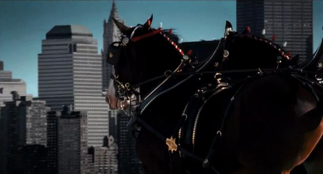 9/11 Budweiser Clydesdale's Horses Tribute Commercial