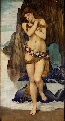 John Roddam Spencer Stanhope - Venus Rising From The Sea