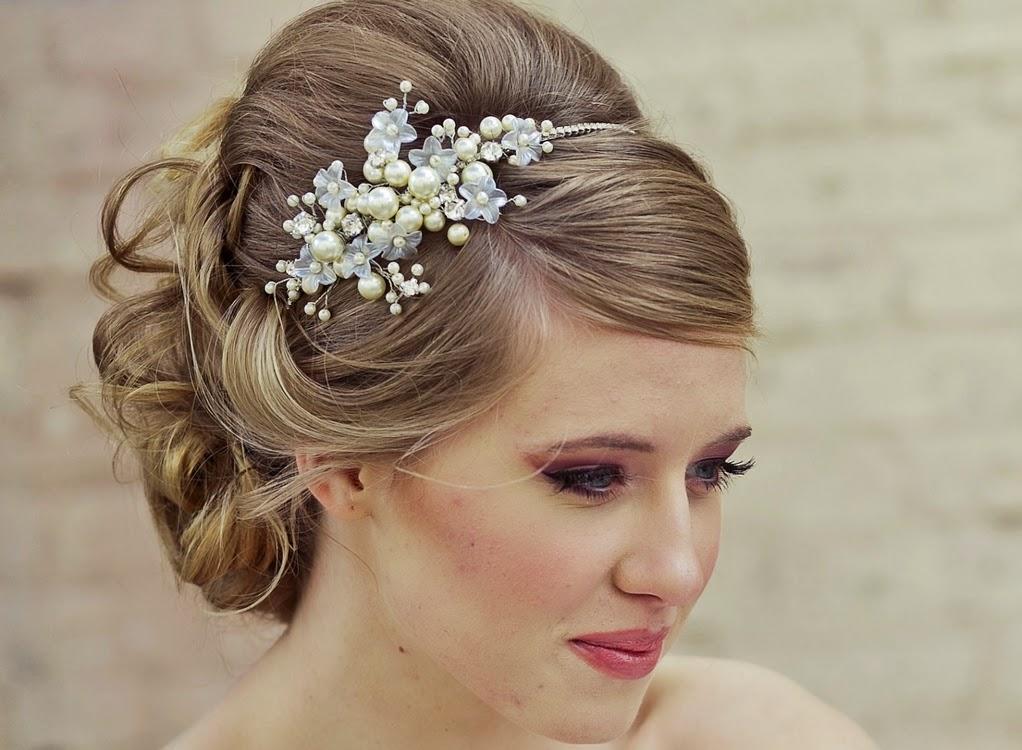 Peinados para novias de pelo corto