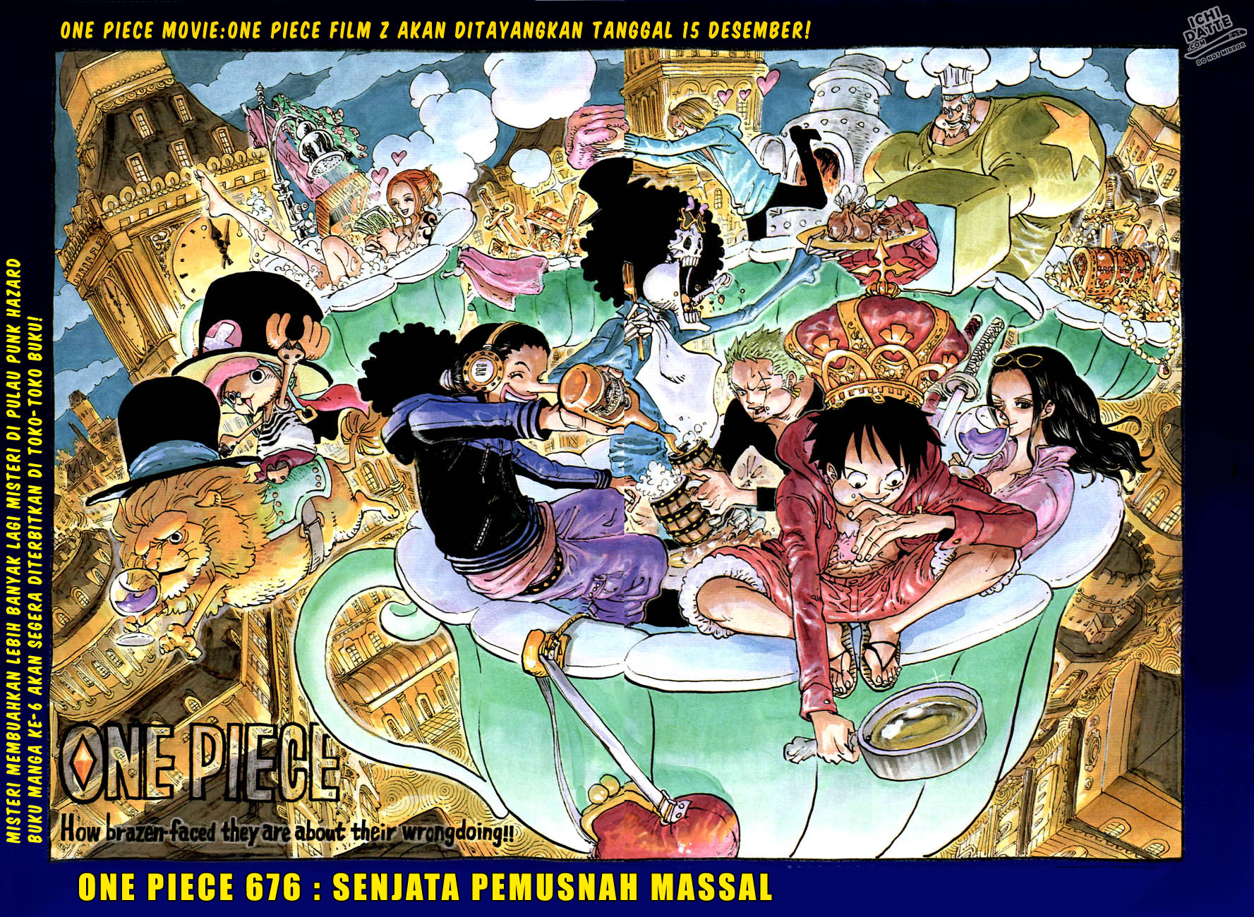 One Piece - Chapter:676 - Page:01