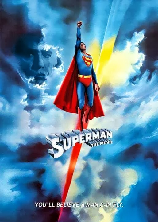 Man Of Steel Review: Poster Of the 1978 Superman Movie starring Christopher Reeve as Superman
