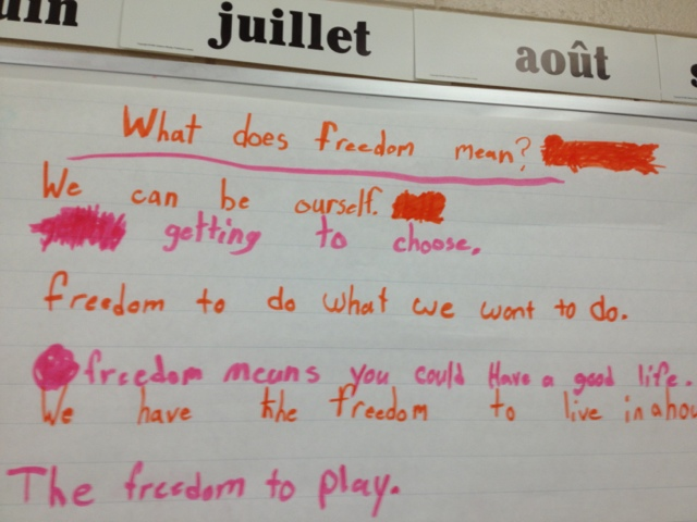What Freedom Means To Me Essay Ideas