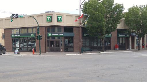 TD Canada Trust, 145 Main St N, Moose Jaw, SK S6H 0V9, Canada, ATM, state Saskatchewan